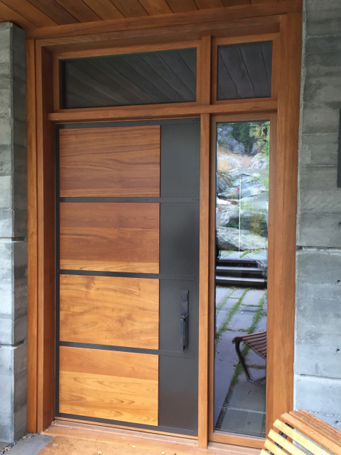 & Custom Wood Doors