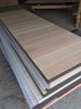 Photo 101, White Oak Planks with Steel Frame