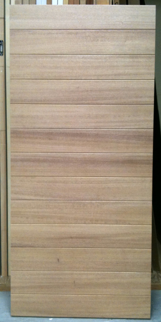 Photo 25 Horizontal Plank Door