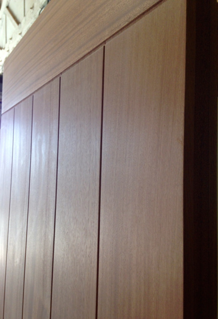 Photo 25 Sapele Plank Door