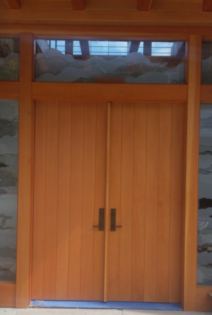 Photo 80 Vertical Plank Door