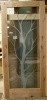 Photo 76, Knotty Alder with Custom Etched Tree