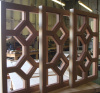 Photo 73  Ribbon Sapele Transom